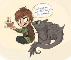 Happy Birthday Toothless !!!