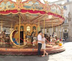 Piazza della Repubblica - Photos of Honeymoon in Florence