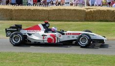 Honda F1 car with Jenson Button