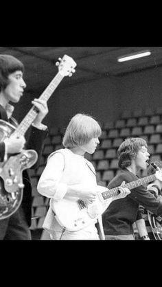 Bill Wyman, Brian Jones, and Mick Jagger