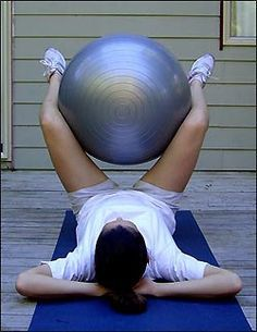 inner thigh swiss ball squeezes  Squeeze your knees together as hard as you  can and hold for seconds. Feel your inner thighs tensing  7c6454c50f0f