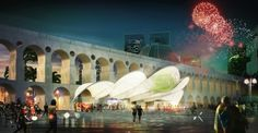 Bustler: Mekene Architecture's Winning [RIO DE JANEIRO] Symbolic World Cup Structure Entry
