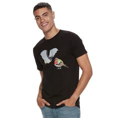 Men's DC Comics Batman & Robin Tee, Size: