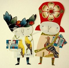 paper people - how adorable they are