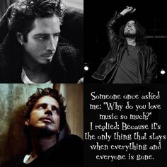 Still do not understand why he took his own life and still very sad about it but oh what a legacy he left behind. An amazing voice that will be missed!