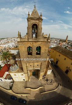 Church of Our Lady of Sorrows, Utrera, Spain, 18th century. Captured with first time bebop 2 drone user.
