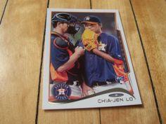 2014 Topps Series 1 55 Chia Jen Lo RC Rookie Card | eBay