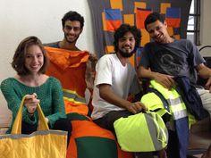 Retalhar: como quatro jovens transformam restos de tecido em matéria-prima e novos negócios
