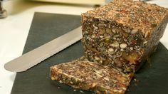 Nordic Nut Bread - Paleo Bread - Stone Age Bread