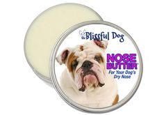 Bulldog Nose Butter  Organic Salve for Dry noses. My Molly Moo needs this!