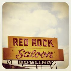 Red Rock Saloon. Beer, bowling, bar food, poker & karaoke – all in one place. By the way, have you been to signporn.com yet? #neon #saloon #bowling #sign #signporn #minnesota #vintagesign #vintagesigns #recapturist - @recapturist #webstagram