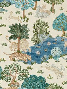 Sanderson Pamir Garden Wallpaper, DCPW216765