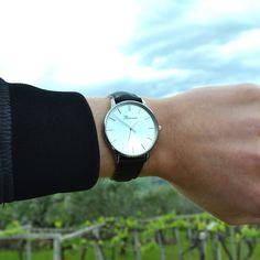 Classic Silver on the wrist, find out more at www.bonvier.com #bonvier #watch #watches