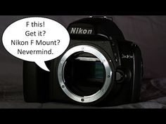 Introduction to the Nikon D40, Video 5 of 12 (Lens Compatibility) - YouTube