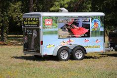 Safety trailer by Car Wrap City www.carwrapcity.com