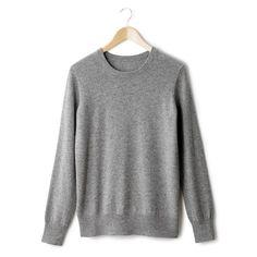 Compre Camisola de gola redonda, pura caxemira Camisolas na La Redoute. O melhor da moda online.