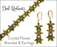Deb Roberti's Crystal Flower Pattern Collection