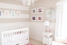 Neutral Nursery with Girly Details