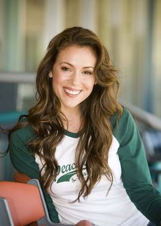 Alyssa Milano is one of my idols. She is spellbinding!