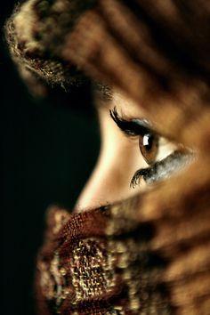 Brown Eyed Woman..