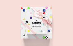 Kindo visual identity designed by Anagrama.