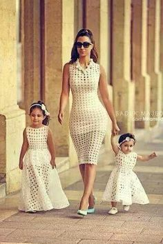Mom daughter matching outfits are perfect to sport on the mother's day. Explore unique ideas for stylish and gorgeous matching dresses for mother and daughter Mommy And Me Dresses, Mommy And Me Outfits, Girl Outfits, Girls Dresses, Fashion Kids, African Fashion, Fashion Fashion, The Dress, Baby Dress