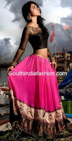 Classy Blouse Design ~ Celebrity Sarees, Designer Sarees, Bridal Sarees, Latest Blouse Designs 2014