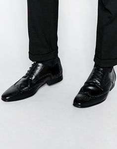 Shop New Look Formal Brogues In Black at ASOS.