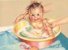 Dunking Charlotte Becker Calendar Art by RedfordRetro on Etsy, $10.00