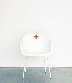 It actually reminds me of the old school nursing red cross hats. Nurse Office Decor, School Nurse Office, Nurse Decor, School Days, School Nursing, Vincent Van Gogh, Office Bulletin Boards, Nurses Station, Cute Nurse