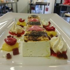... Meringue, Raspberries, Raspberry Jelly, Raspberry Sorbet, Lemon