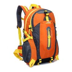970bd2f7d135 Outdoor Mountaineering Backpack Hiking Camping Waterproof Nylon