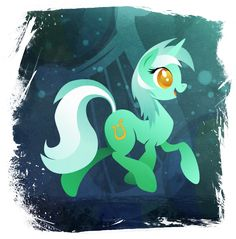 Lyra Heartstrings - Handsome Pony by *Rariedash on deviantART