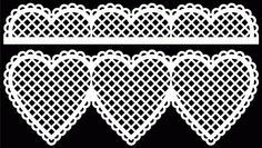 FREE SVG + cut files Lacey Border 3 by Bird
