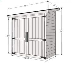 Build a cedar shed Free easy plans anyone can use to build their own shed for under 260 Small Lean to Shed Plans Top 15 Sheds and Outdoor Structures Designs Styles Costs. Small Wood Shed, Small Shed Plans, Wood Shed Plans, Small Sheds, Cedar Shed, Cedar Fence Pickets, Le Hangar, Lean To Shed, Garden Storage Shed