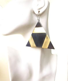 GEO Collection As seen on Fab.com Triangle Earrings by GeorgeNightingale