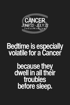 """Cancer Zodiac Sign ♋ """"Your sign vs sleep"""""""