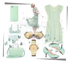 """""""Mint"""" by andreachidisima on Polyvore featuring SnapLight, L'Agent By Agent Provocateur, Band of Outsiders, Rebecca Minkoff, Wildfox and Movado"""