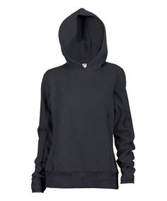 Look what I found on #zulily! Black Pullover Hoodie - Women & Plus by Soffe #zulilyfinds