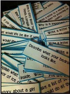 120 Writing Prompts---for kids who can't think of journal ideas..grab one...