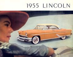 On April 18, 1955, Lincoln became its own division within the Ford Motor Company.