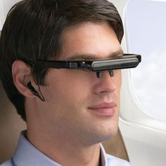 iDesign® Digital Video Glasses  Personal big-screen viewing--to go.