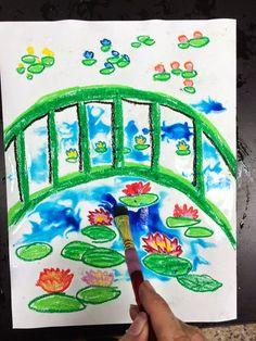 smART Class: Claude Monet's Garden 1st grade