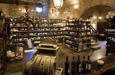 Enoteca La Fortezza - the best wine shop in the world inside the old fortress in Montalcino