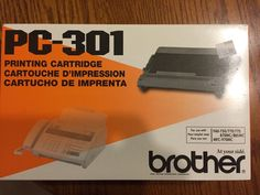 BROTHER PC-301 Printing Ink Cartridge Fax Machine 740- 770-  775  NIB #Brother