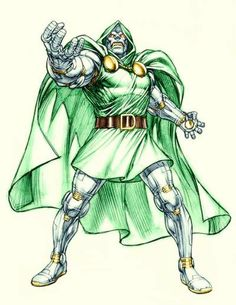 Dr. Doom - Dale Keown
