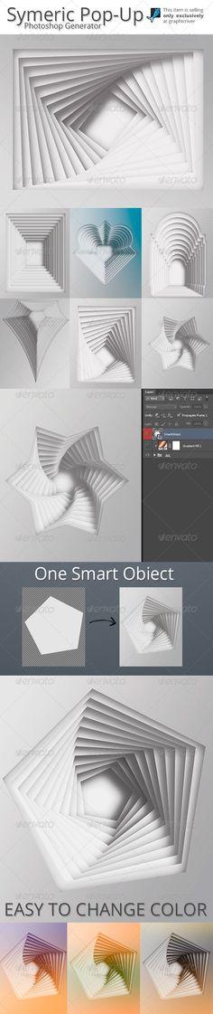 Pop-Up Generator Decorative 3D Effects