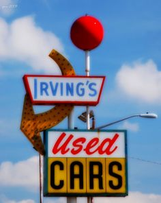 Irving's Used Cars in Sun Valley, Denver Colorado.  Photo by Pam Morris.