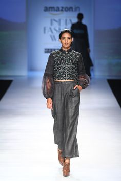 Shruti Sancheti at Amazon India Fashion Week autumn/winter 2017