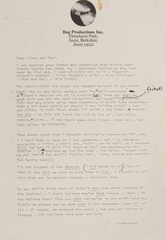 This Letter From John Lennon Shows His Real Feelings About Paul McCartney